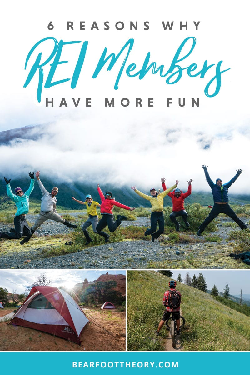 REI Membership benefits include exclusive sales, discounts on classes & the best return policy. For all those reasons & more, REI members have more fun.