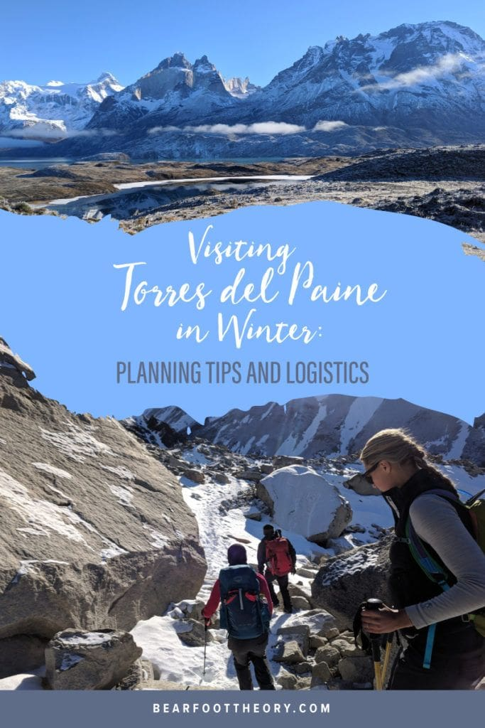 Visiting Torres del Paine in the winter is a great way to beat the Patagonia crowds and winds. Plan your epic trip with these tips for things to do, what to pack, and where to stay.