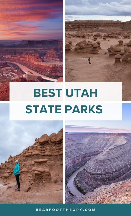 A complete guide to the best Utah state parks for hiking & camping including the best hiking trails, viewpoints, and things to do in each.