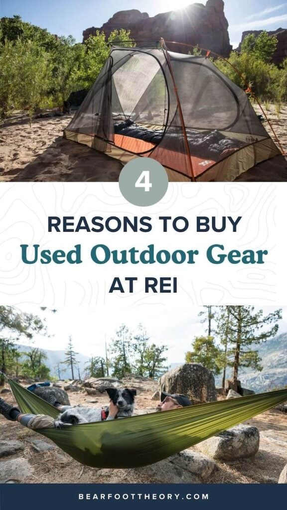 Save money and keep stuff out of landfills! Here is a list of the best reasons why you should buy used outdoor gear from REI Co-op's new used gear site.
