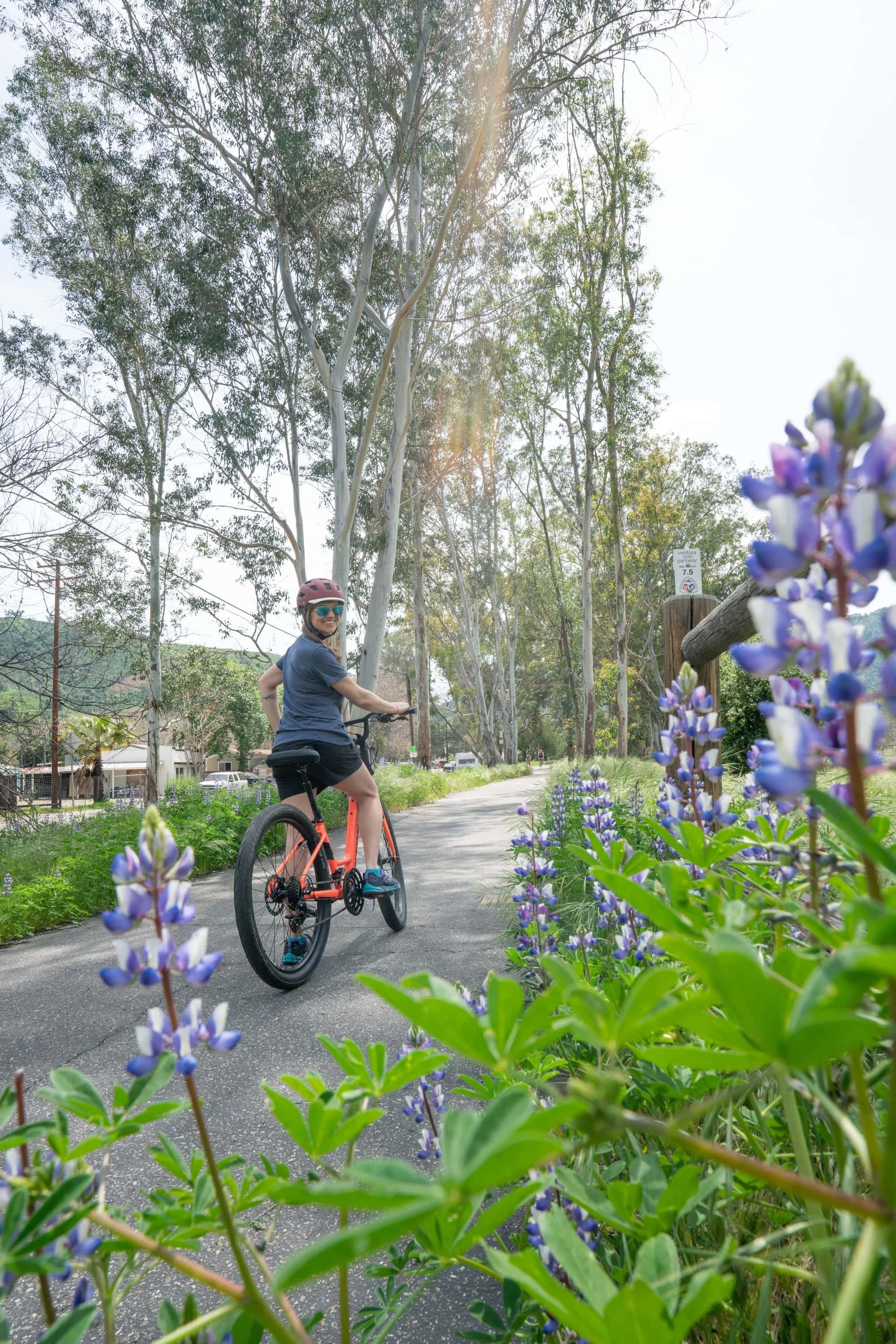 Ventura bike path // A 6 day california coast road trip itinerary that combines outdoor adventure travel and local California beach town culture.