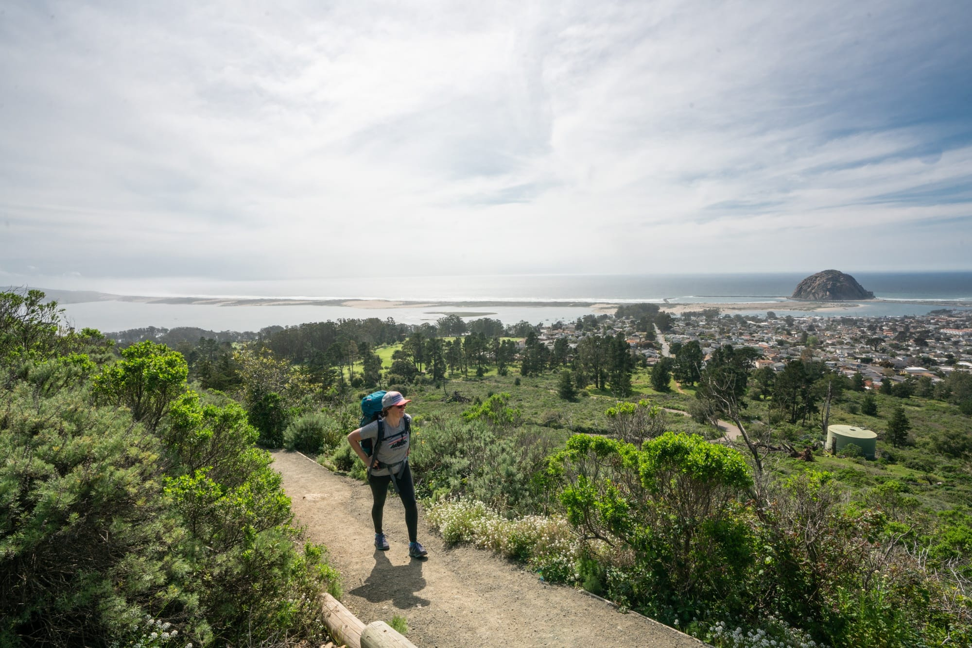 Morro Bay State Park // Plan a 6-day California coast road trip from Ventura to Cambria with this itinerary packed with outdoor adventure, amazing food, and unique places to stay.