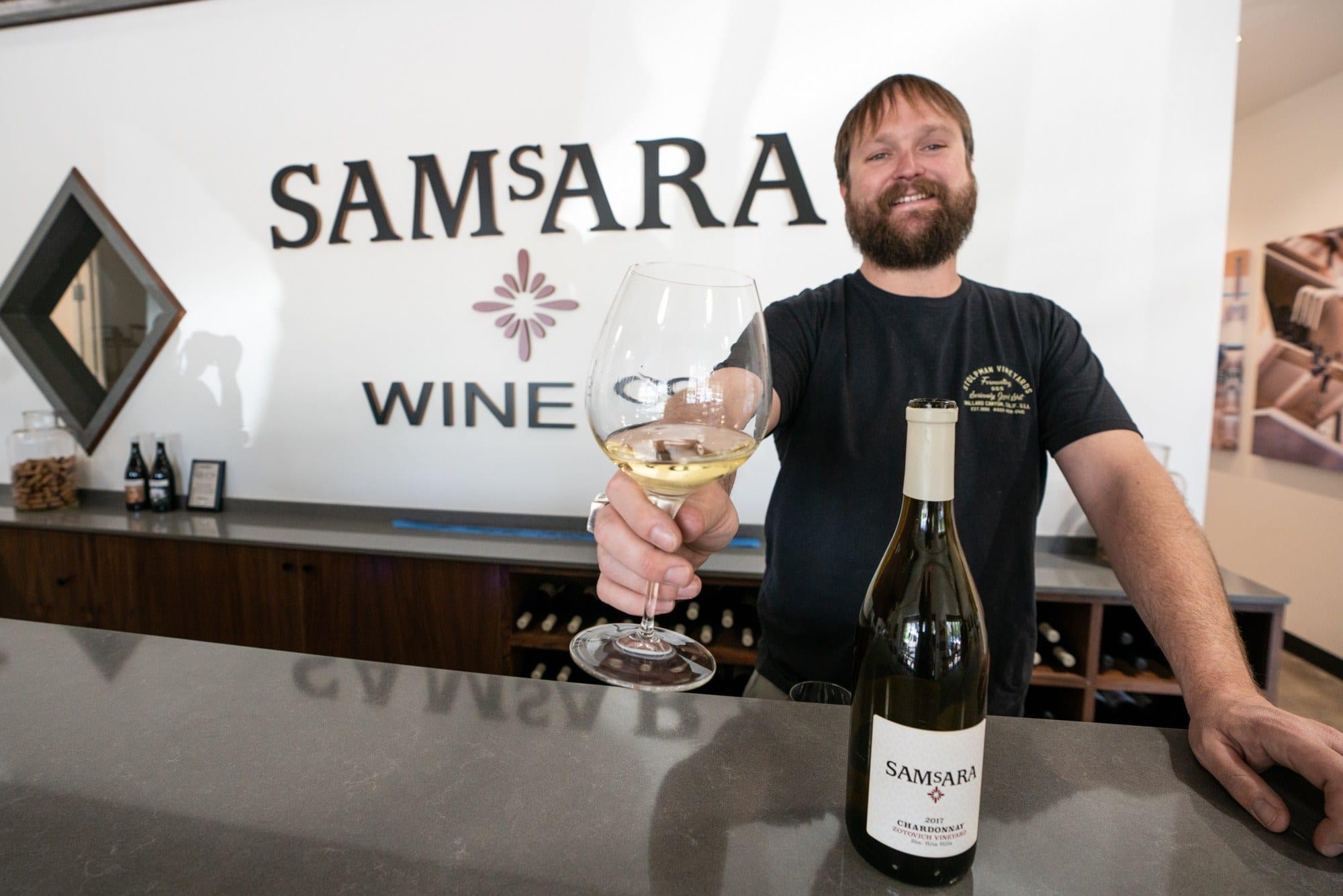 Samsara Winery in Goleta