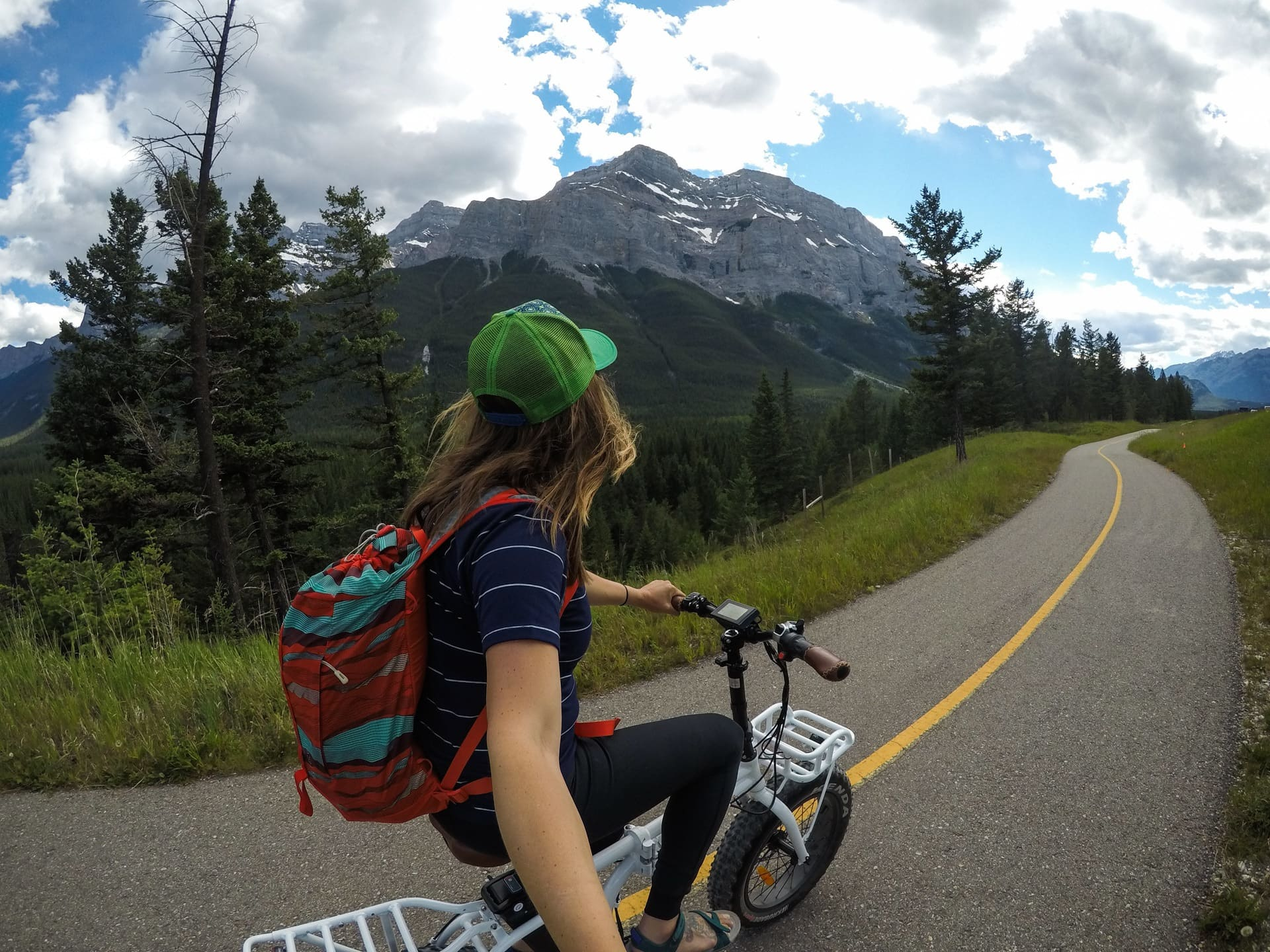 A list of hiking trails, bike paths, kayaking and all the best outdoor activities to do in Banff in the early summer.