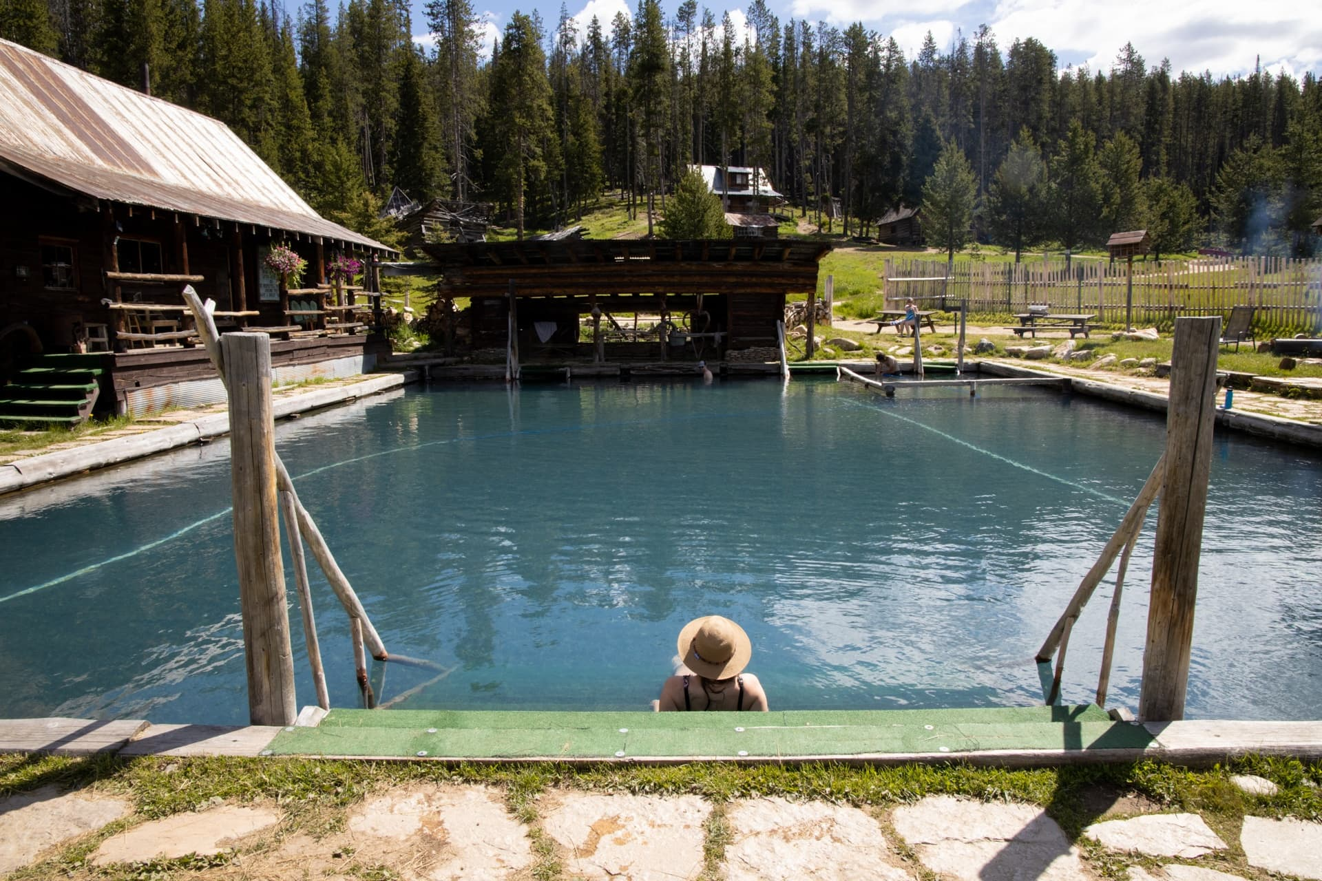 Burgdorf Hot Springs in McCall, Idaho // An outdoor enthusiast's guide to the best hiking, hot springs, biking, rafting, and more summer outdoor activities while visiting McCall, Idaho.