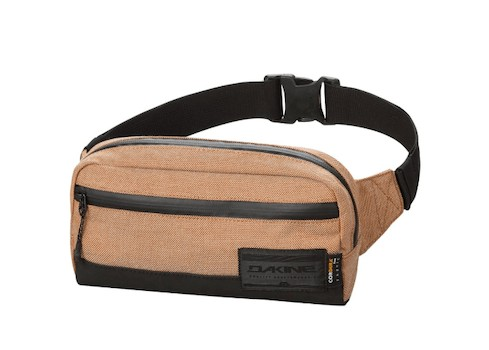 Dakine Rad Fanny Pack - Check out our list of the best fanny packs for hiking, traveling, and road trips that look cool and are functional.