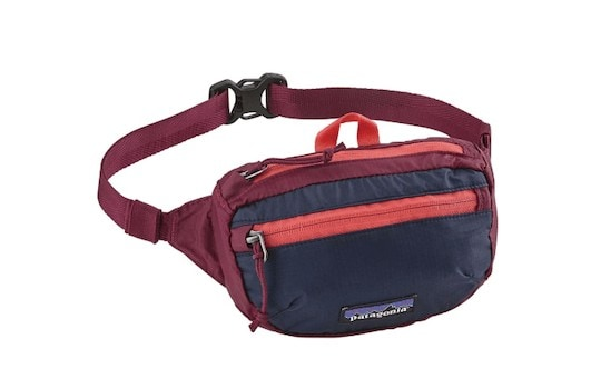Patagonia Fanny Pack - Check out our list of the best fanny packs for hiking, traveling, and road trips that look cool and are functional.
