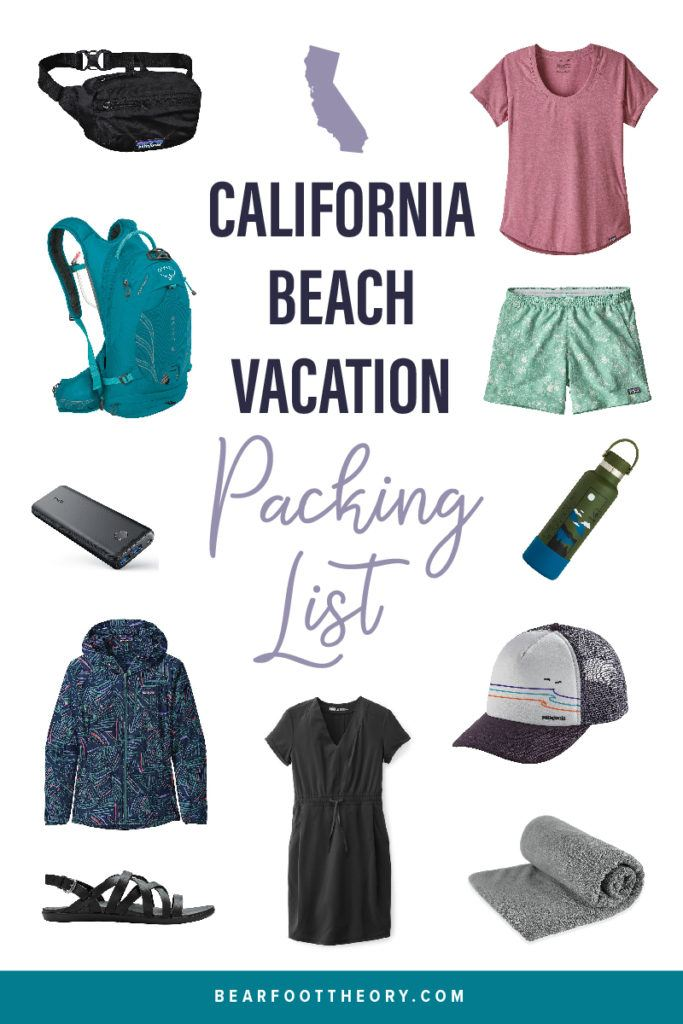 From clothes, to gear, and everything in between, here's what you need to have on your California Beach Vacation Packing List.