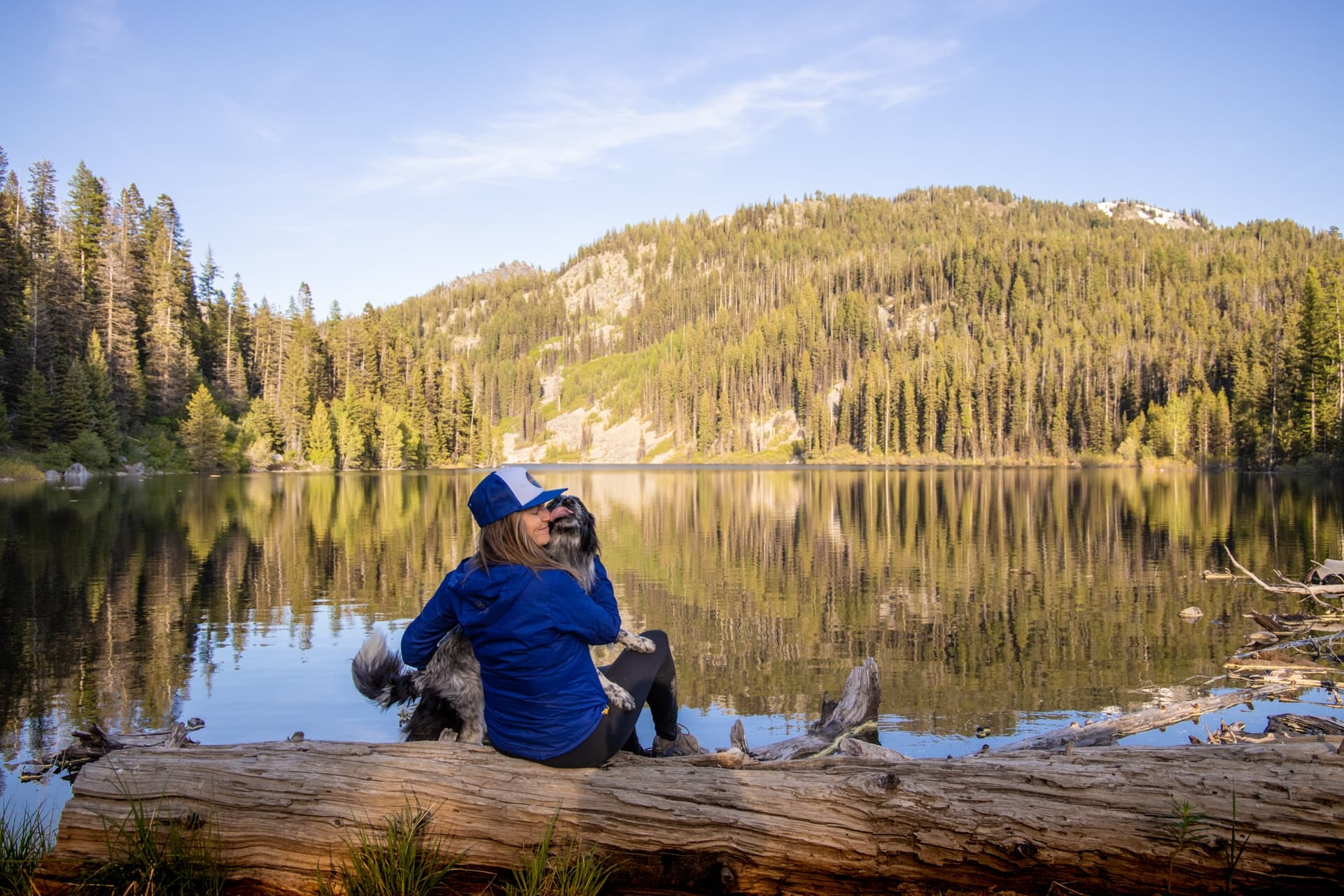 Boulder Lakes Loop near McCall, Idaho // An outdoor enthusiast's guide to the best hiking, hot springs, biking, rafting, hot springs, and more summer outdoor activities while visiting McCall, Idaho.