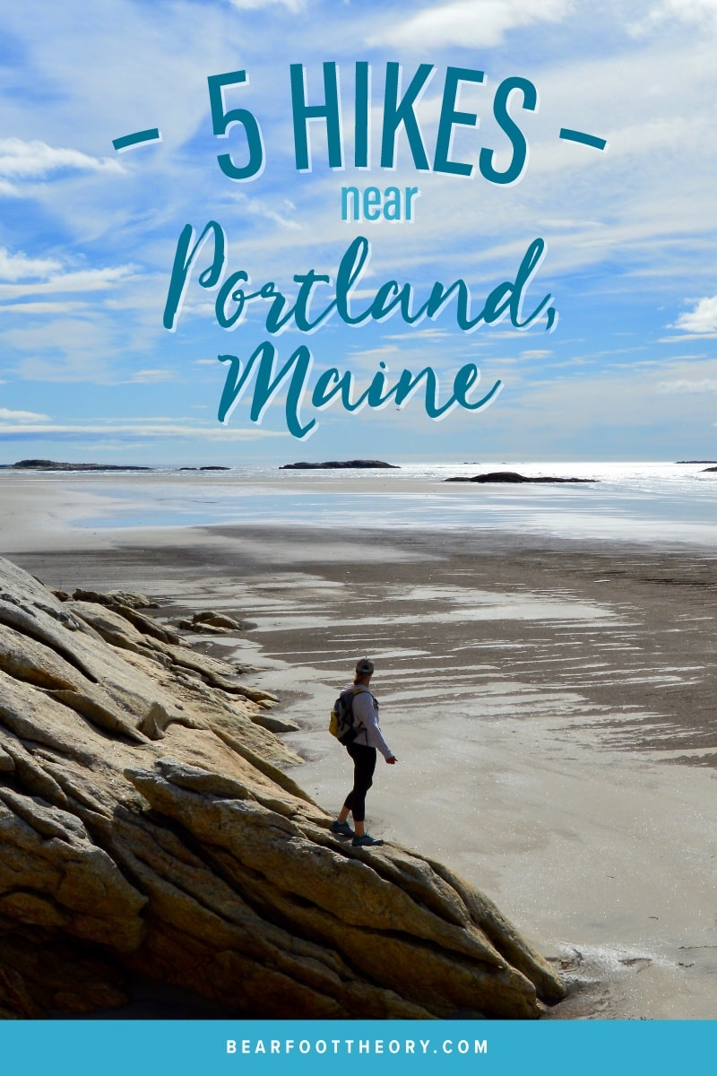 Discover 5 of the best hikes to do near Portland, Maine for beautiful coastal scenery and mountain views just a short drive from the city.