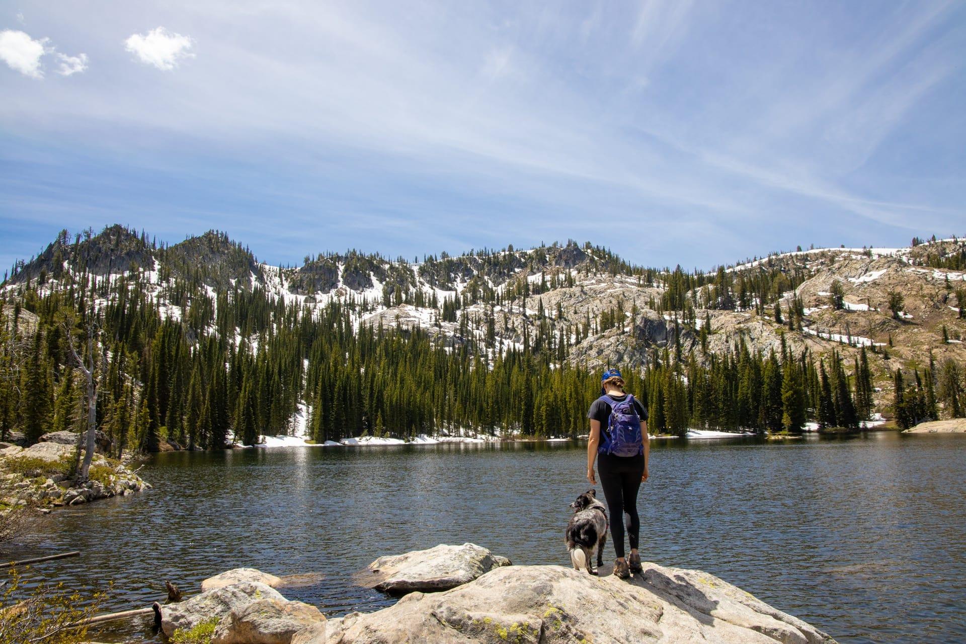 Blue Lake Cascade, Idaho