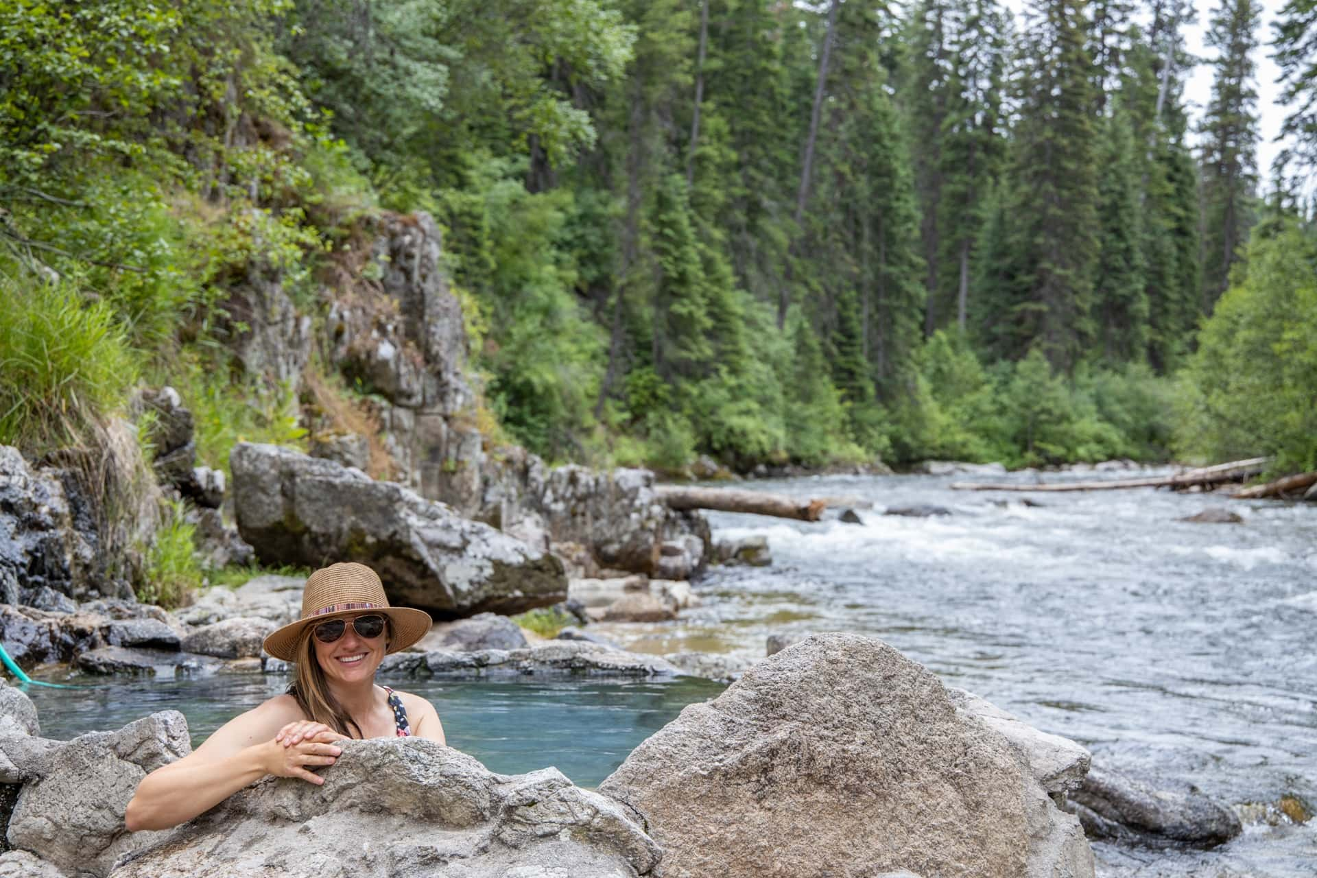 Hot springs in Cascade Idaho
