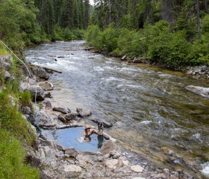 Explore the best outdoor adventure in Cascade, Idaho with this 4-day itinerary featuring hot springs, hiking, off-roading, biking, and more.