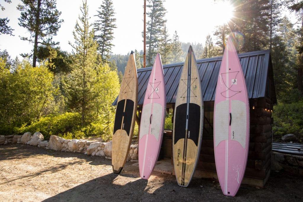 Paddleboarding Lake Cascade Idaho