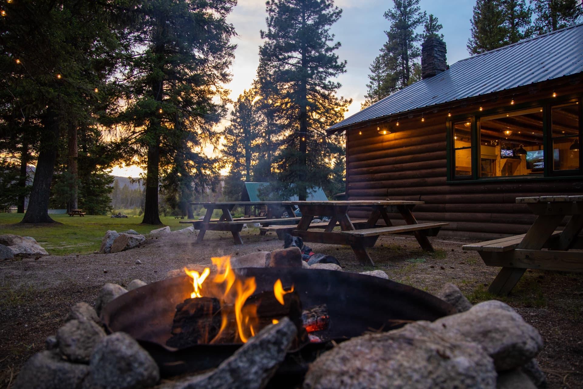 Warm Lake Lodge in Cascade, Idaho
