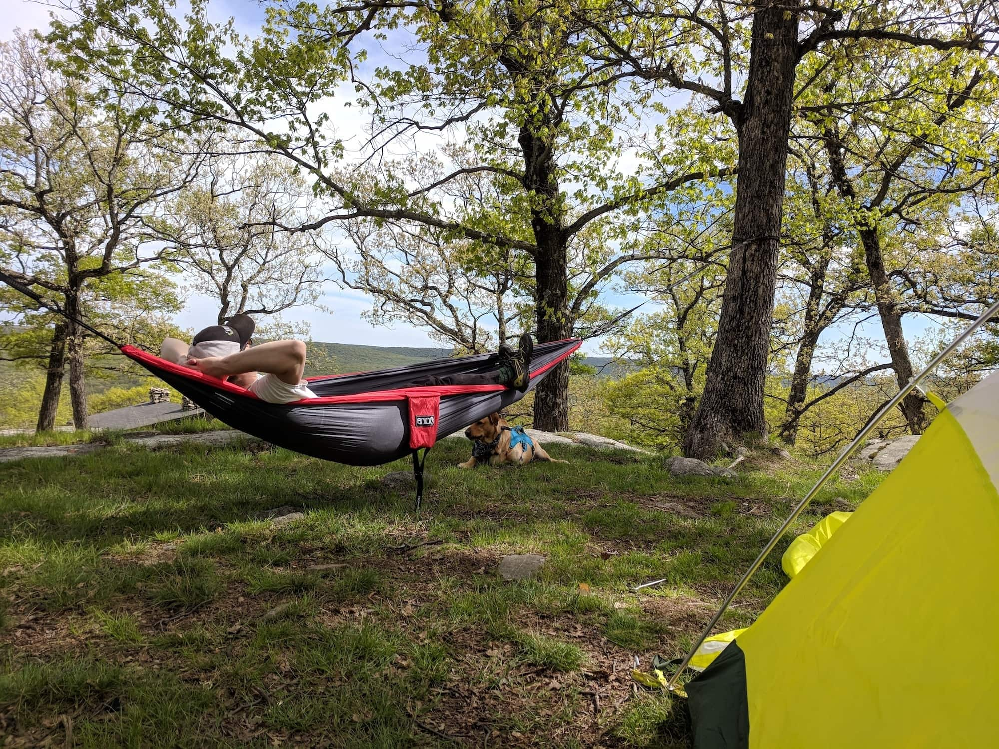 Tips and advice on how to successfully introduce your partner to camping for the first time.