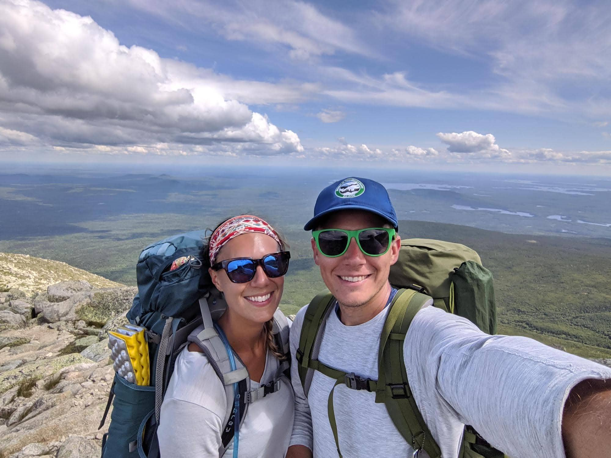 How to plan the best 3-day backpacking trip to Baxter State Park in Maine that includes hiking Katahdin and Knife's Edge.