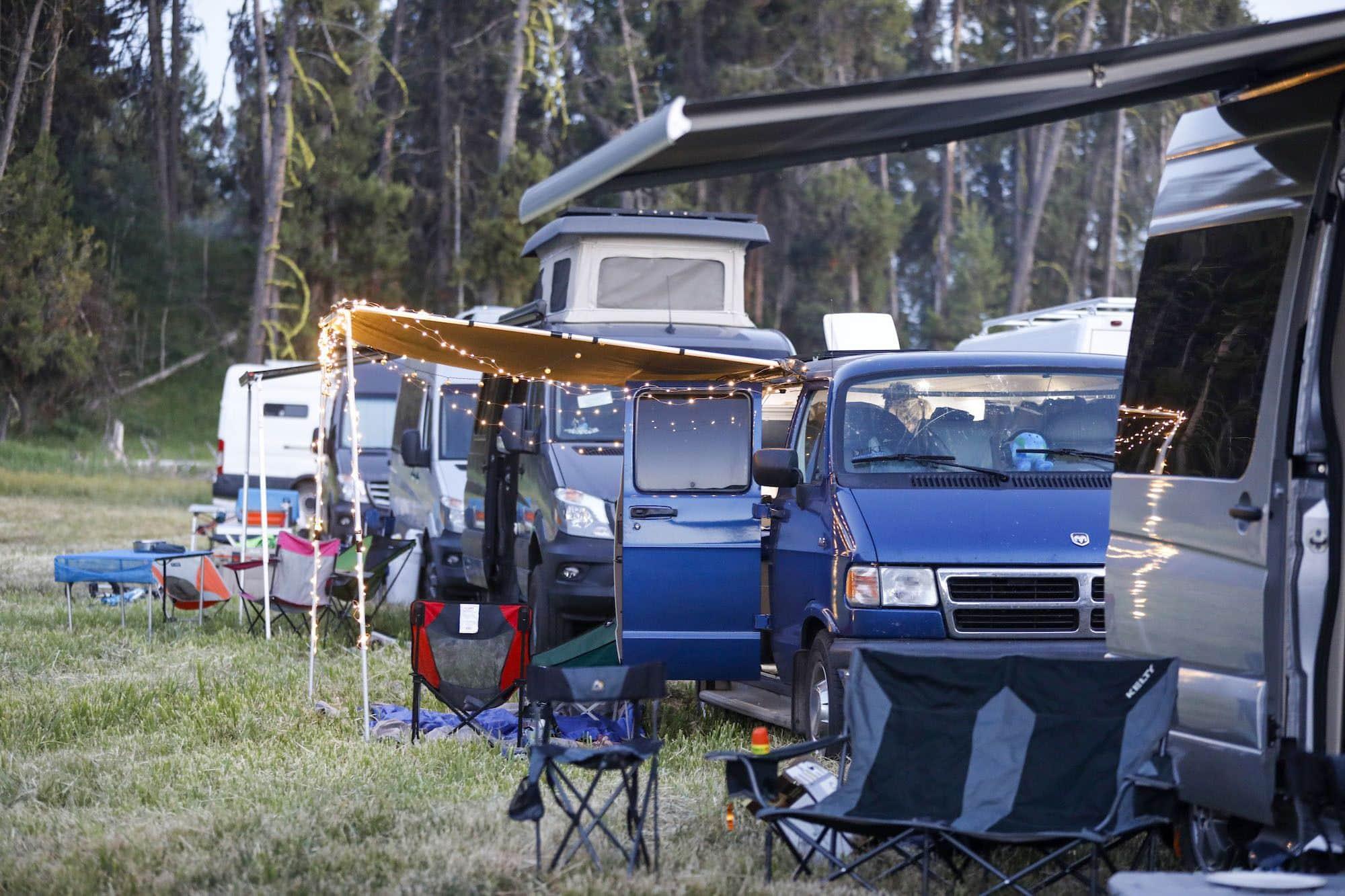 8 Cool Camper Vans We Loved at Open Roads Fest