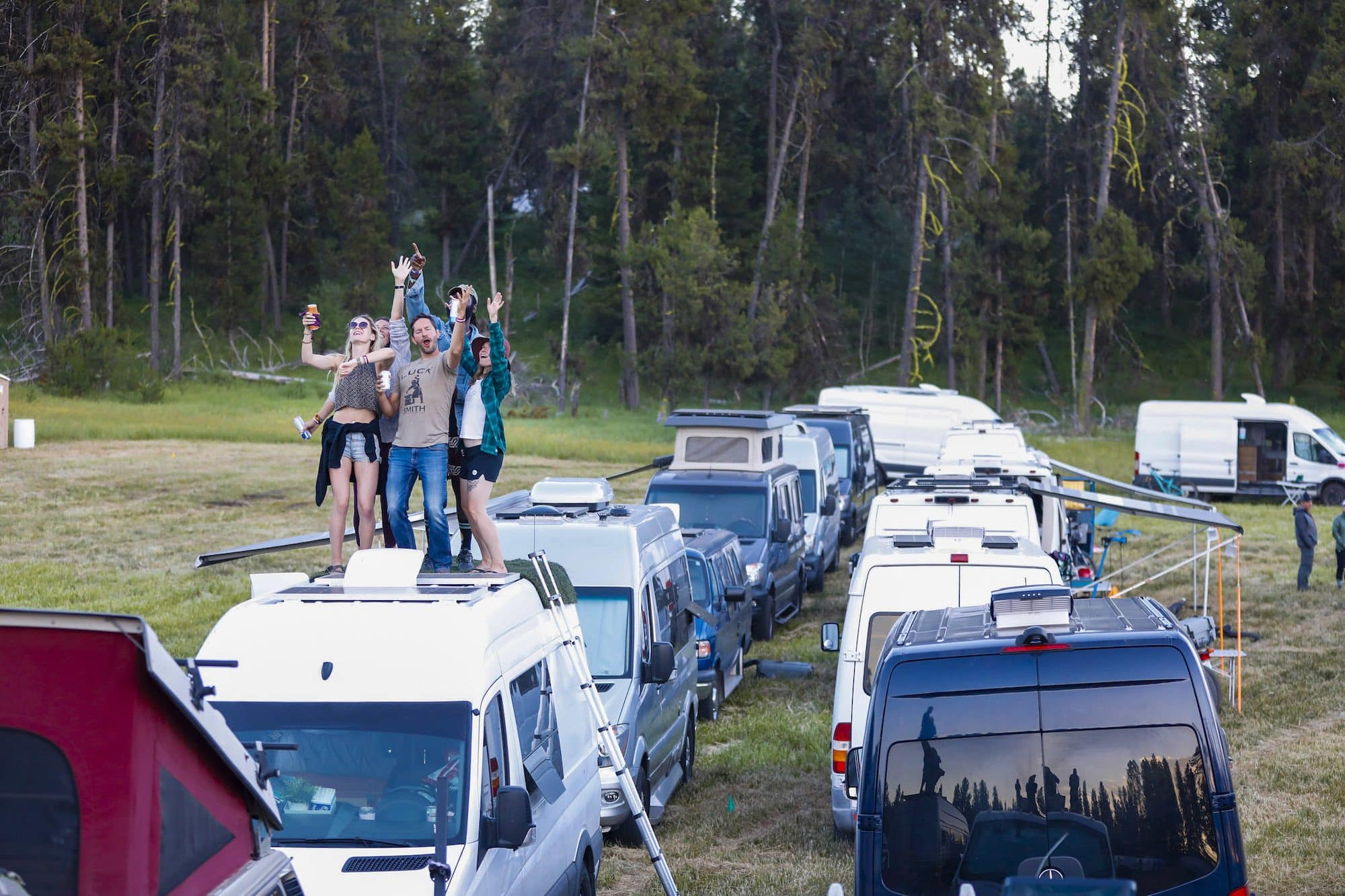 Read about the top highlights from Bearfoot Theory's first-ever Open Roads Fest. A van life festival for outdoor enthusiasts.