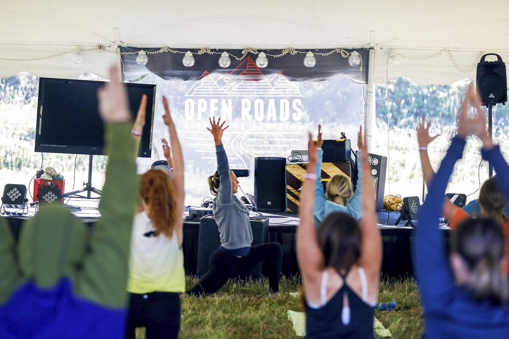 Yoga at Open Roads Fest