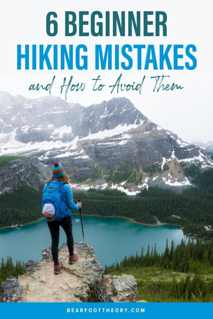 Read about the biggest mistakes you can make when you are a beginner hiking and how to avoid them.