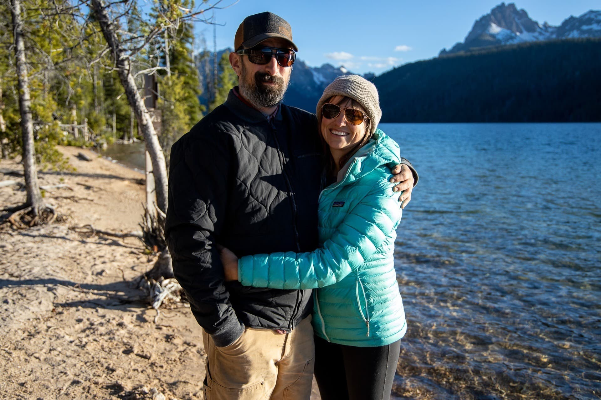 Our tips and advice on how to successfully introduce your partner to camping for the first time.