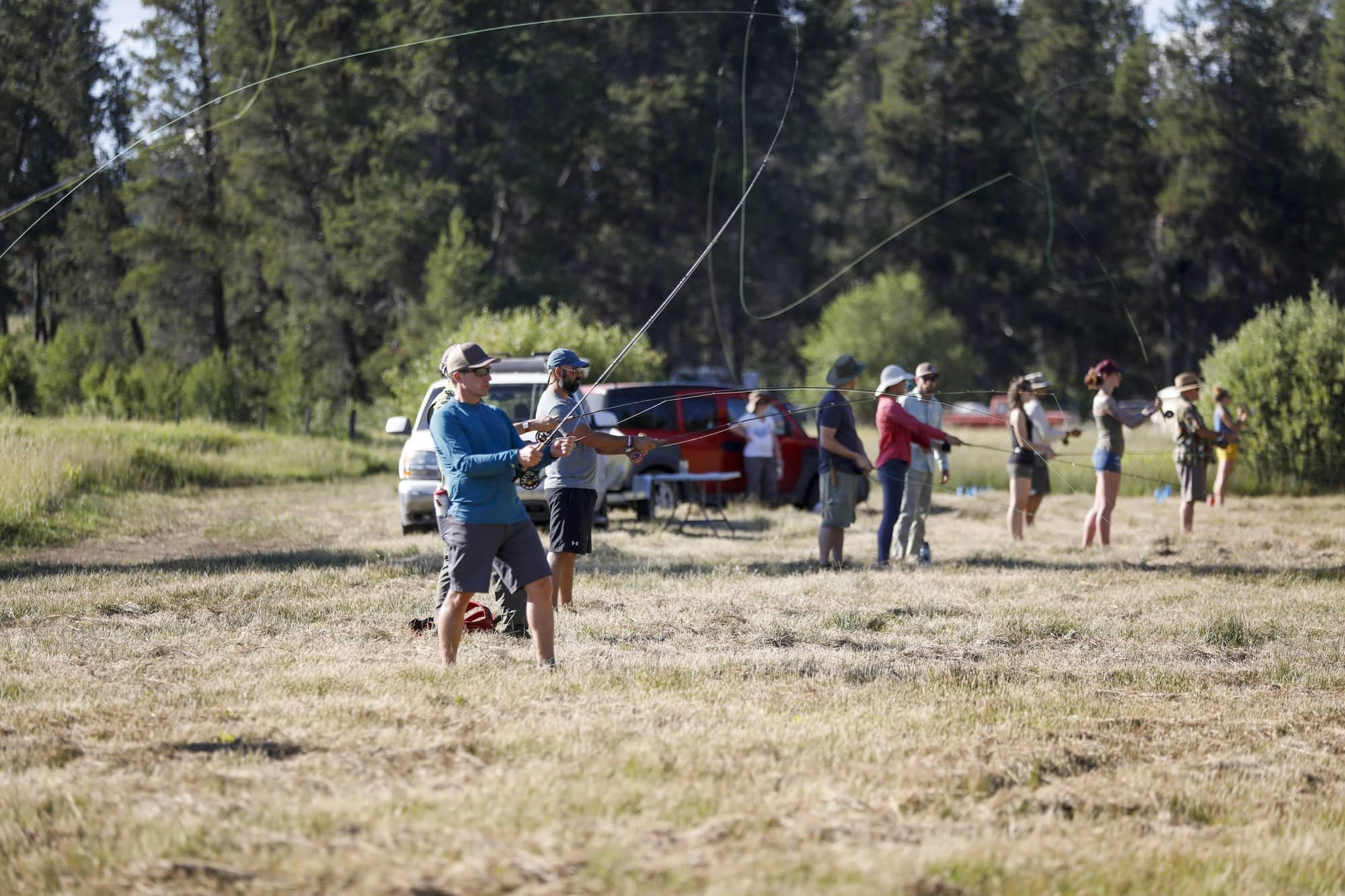 Read about the top highlights from Bearfoot Theory's first-ever Open Roads Fest - a van life festival & campout for outdoor enthusiasts in Idaho.