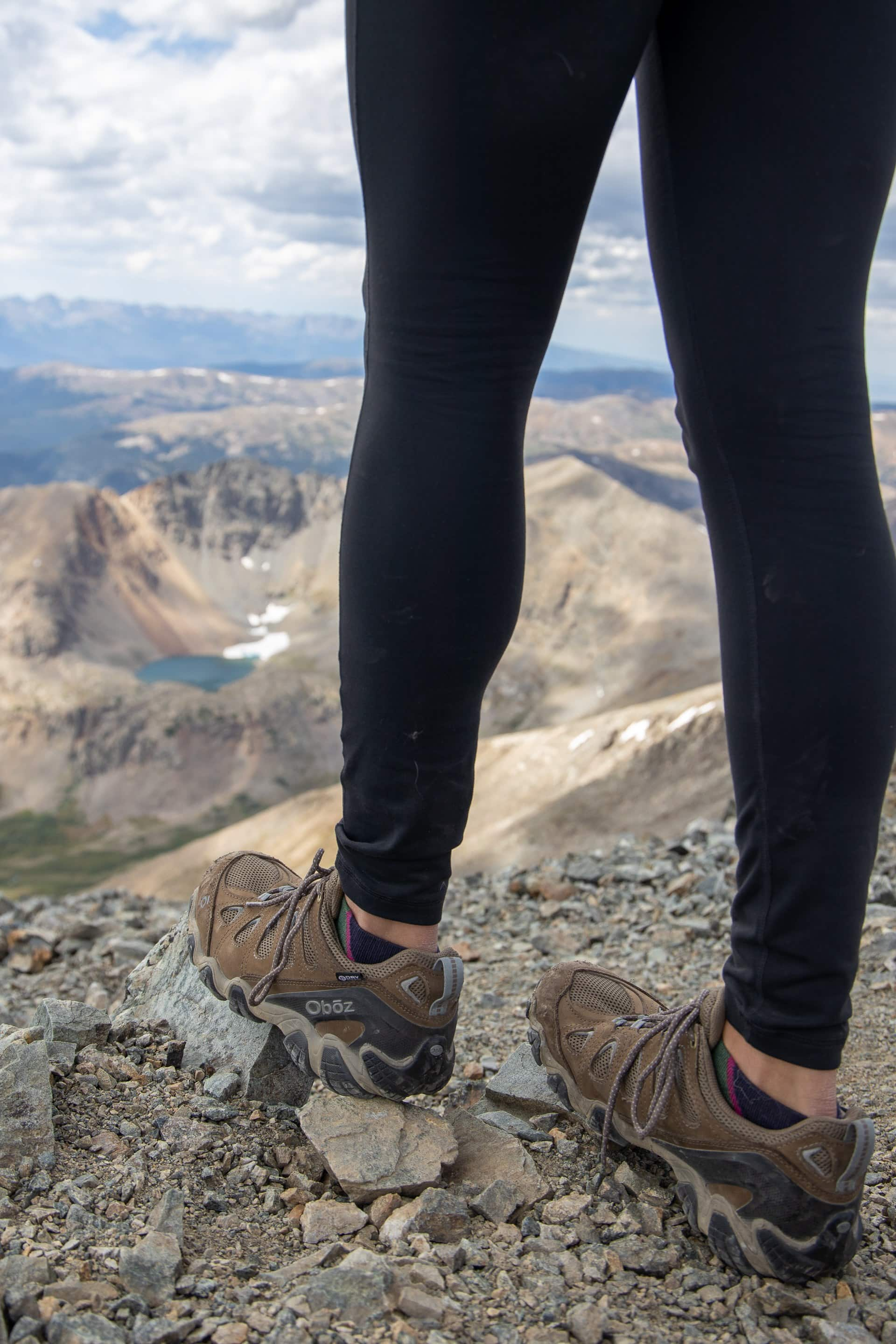 What to wear hiking in fall: Make sure your hiking shoes are waterproof in case you encounter rain.