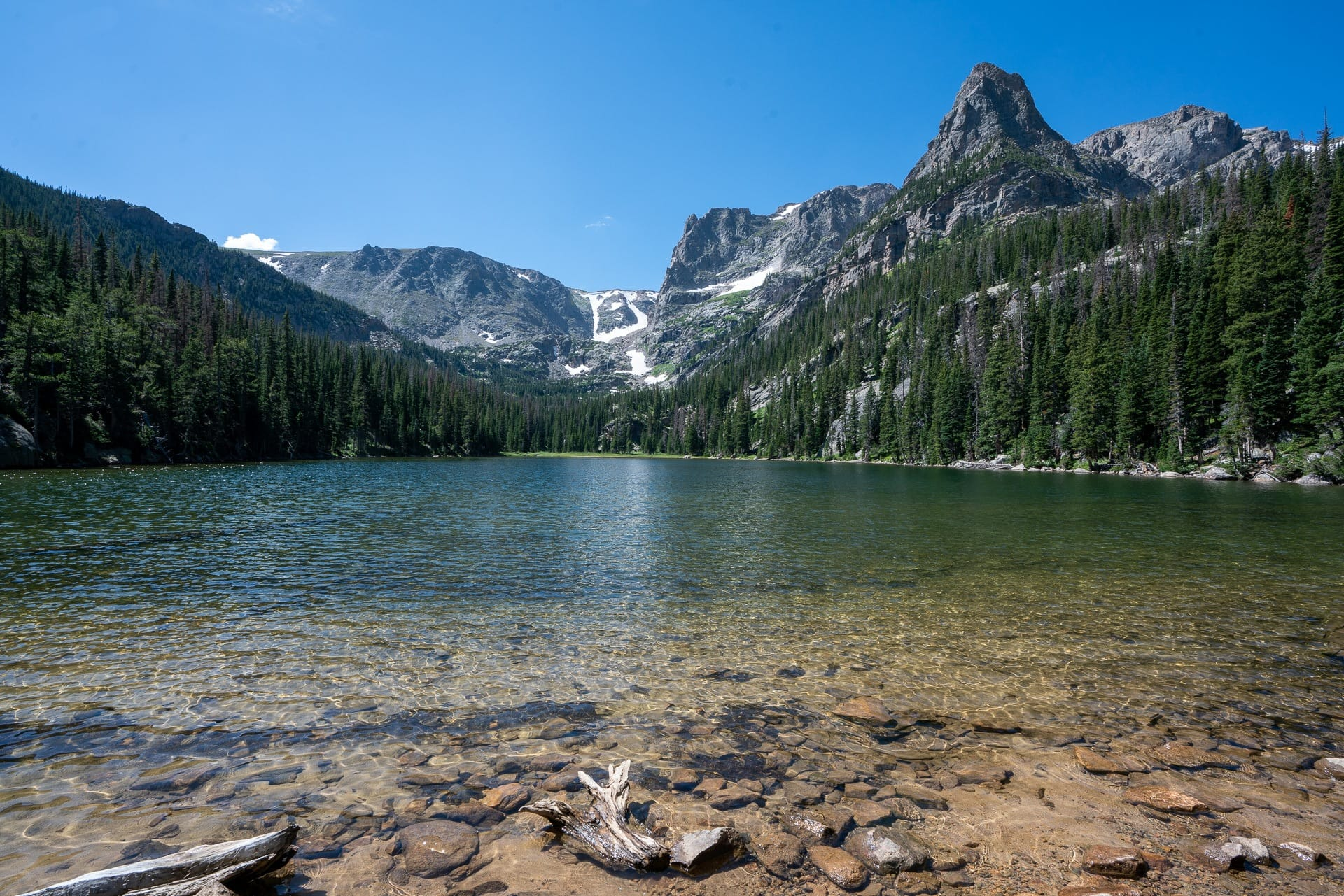 Lake Odessa Trail // Emerald Lake Trail // Get our guide to the best day hikes in Rocky Mountain National Park including distances, trail descriptions, what to be prepared for, and more.