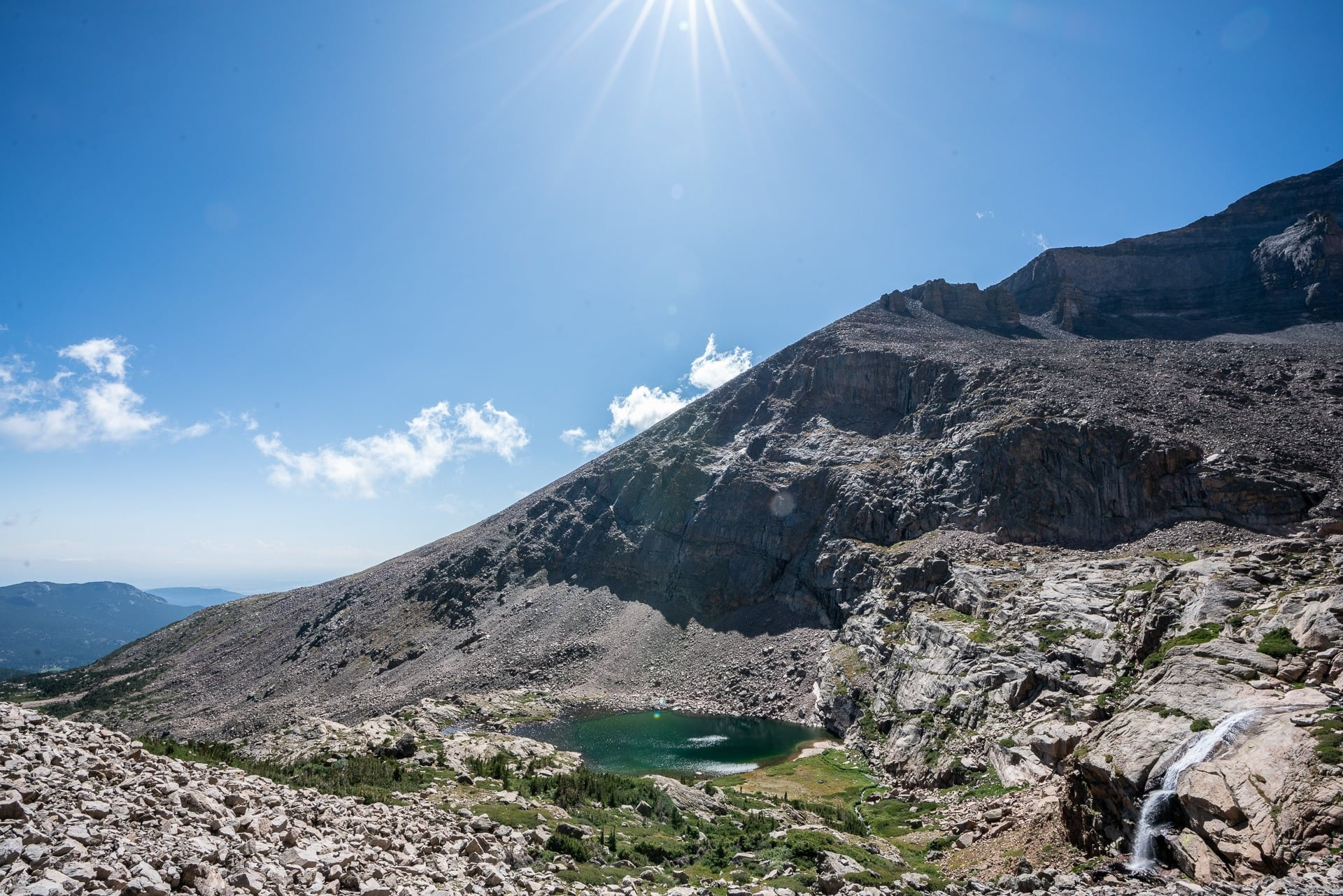 Chasm Lake Trail // Get our guide to the best day hikes in Rocky Mountain National Park including distances, trail descriptions, what to be prepared for, and more.