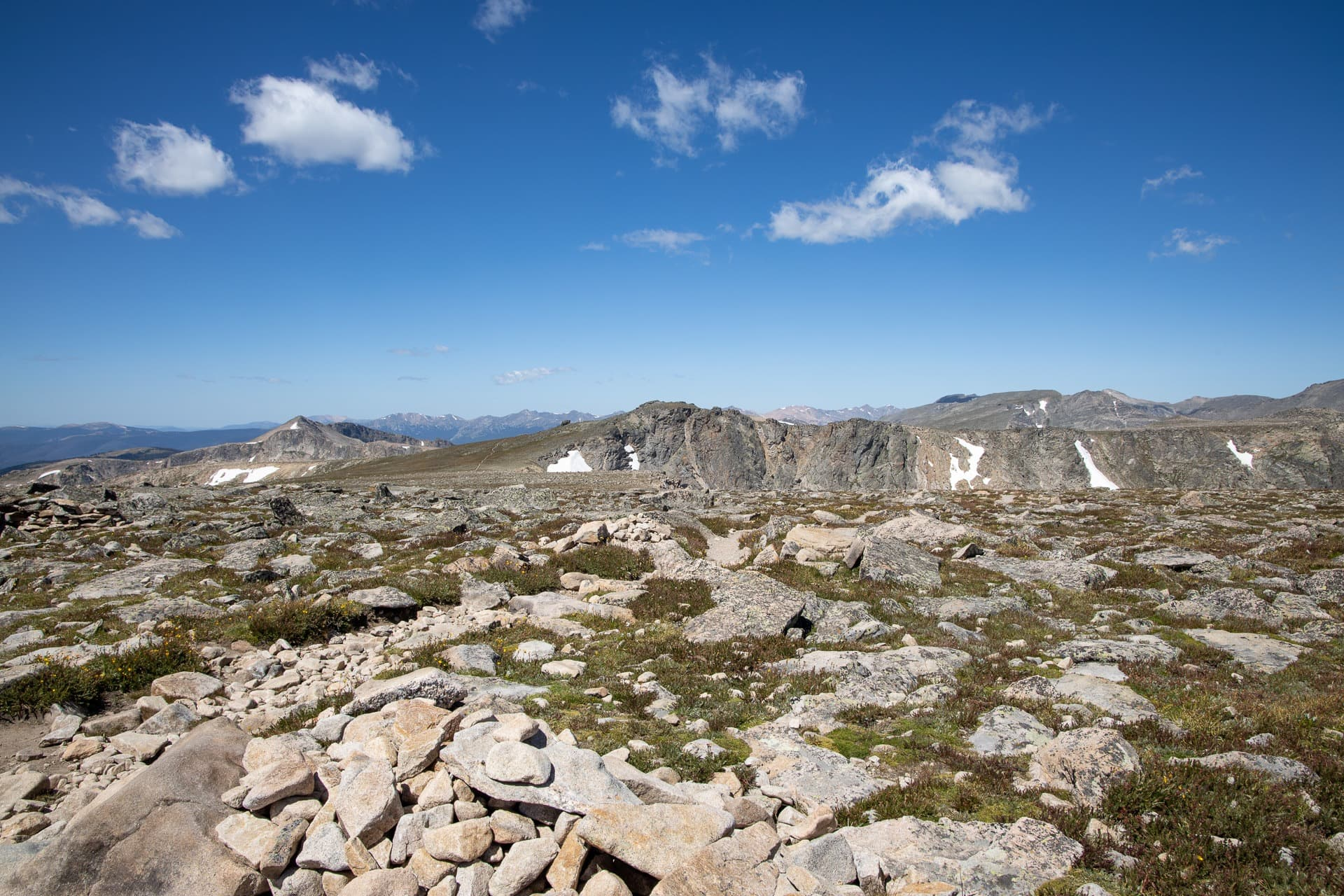 Flattop Mountain Trail // Get our guide to the best day hikes in Rocky Mountain National Park including distances, trail descriptions, what to be prepared for, and more.