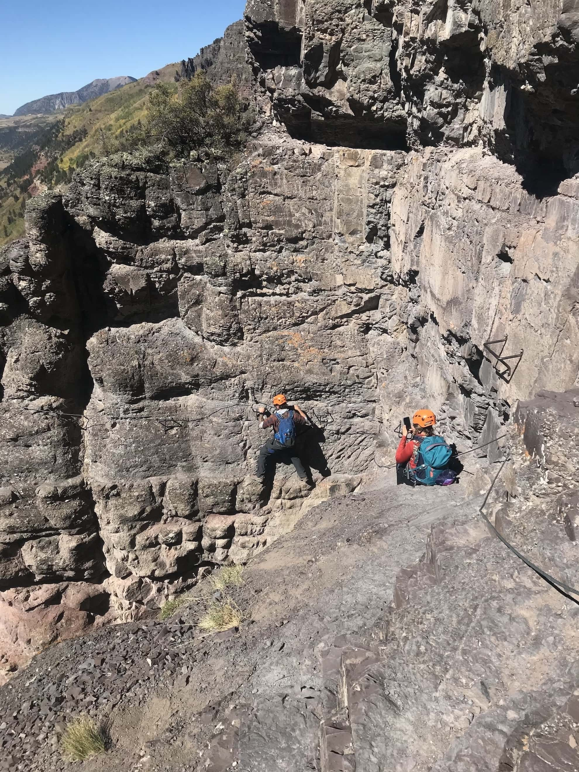 The Telluride Via Ferrata is a fun, thrilling mix of climbing & hiking where you use special equipment to traverse a steep cliff. Plan your adventure with these tips.