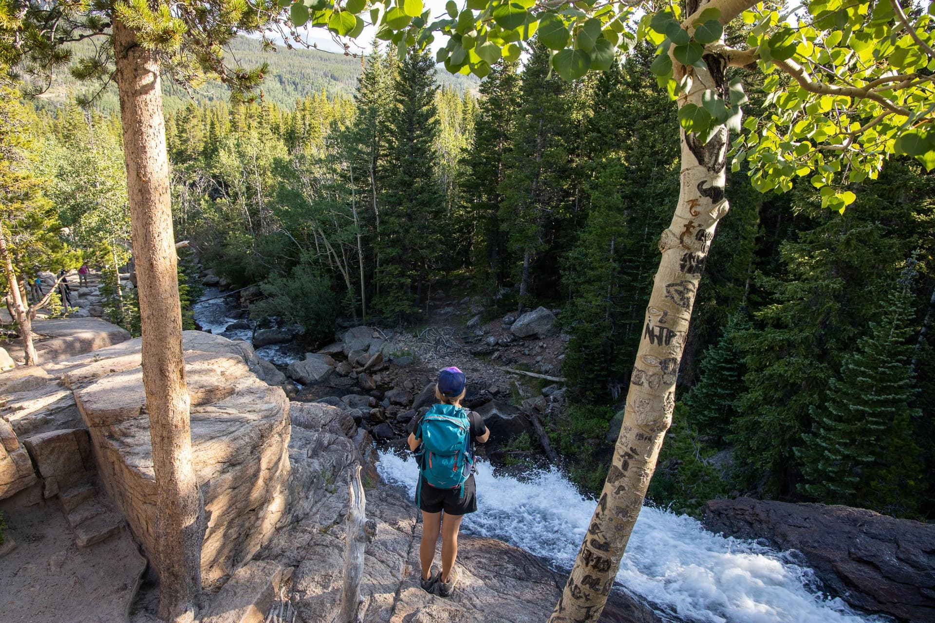 Black Lake Trail // Get our guide to the best day hikes in Rocky Mountain National Park including distances, trail descriptions, what to be prepared for, and more.