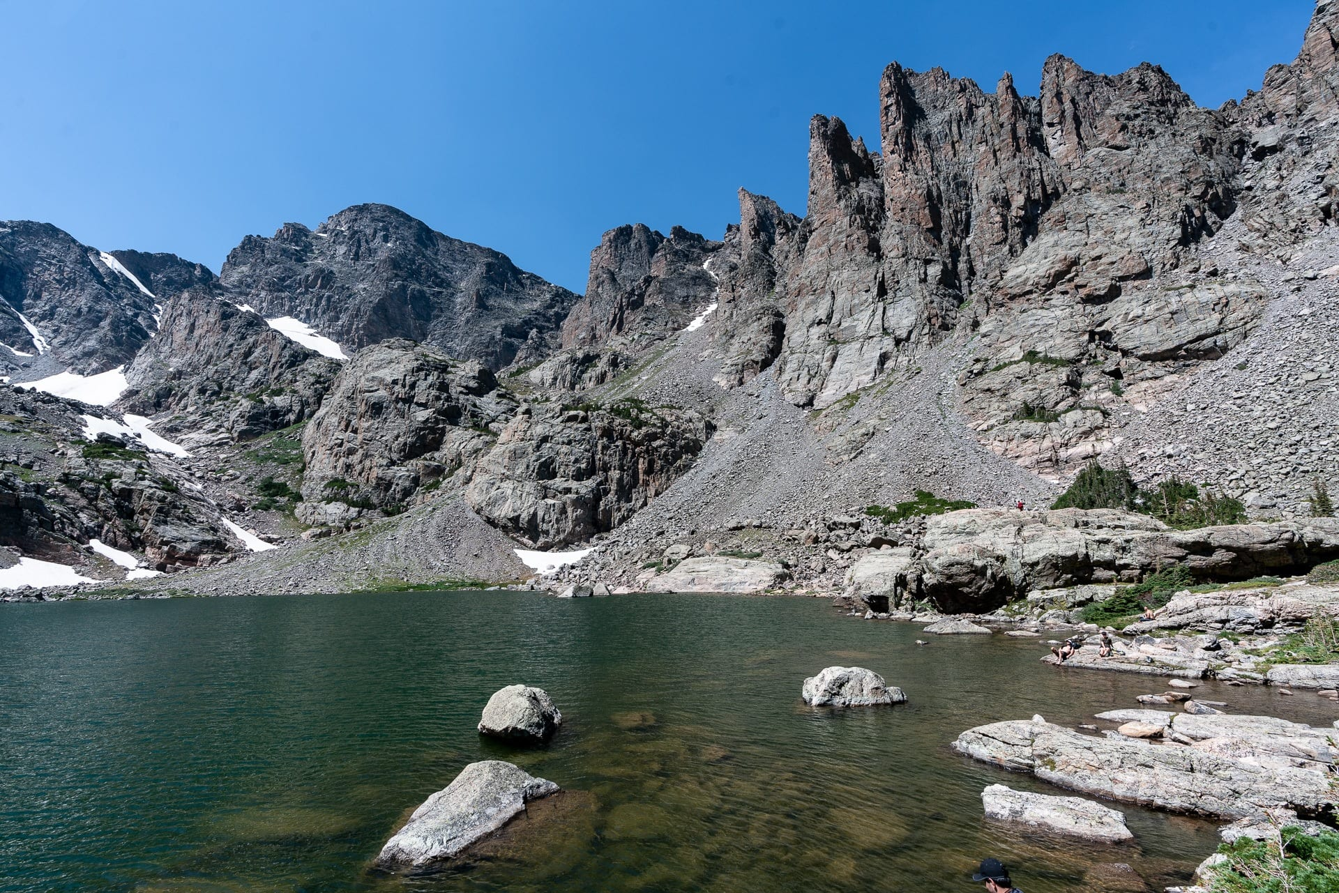 Sky Pond Trail // Get our guide to the best day hikes in Rocky Mountain National Park including distances, trail descriptions, what to be prepared for, and more.