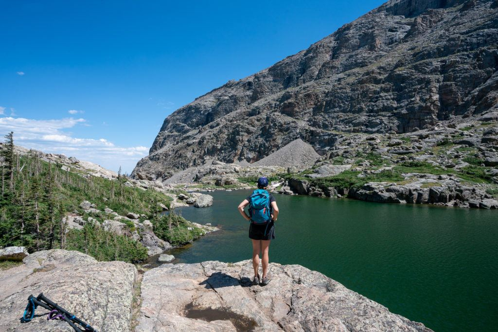 Sky Pond Trail via Glacier Gorge Trail // Get our guide to the best day hikes in Rocky Mountain National Park including distances, trail descriptions, what to be prepared for, and more.