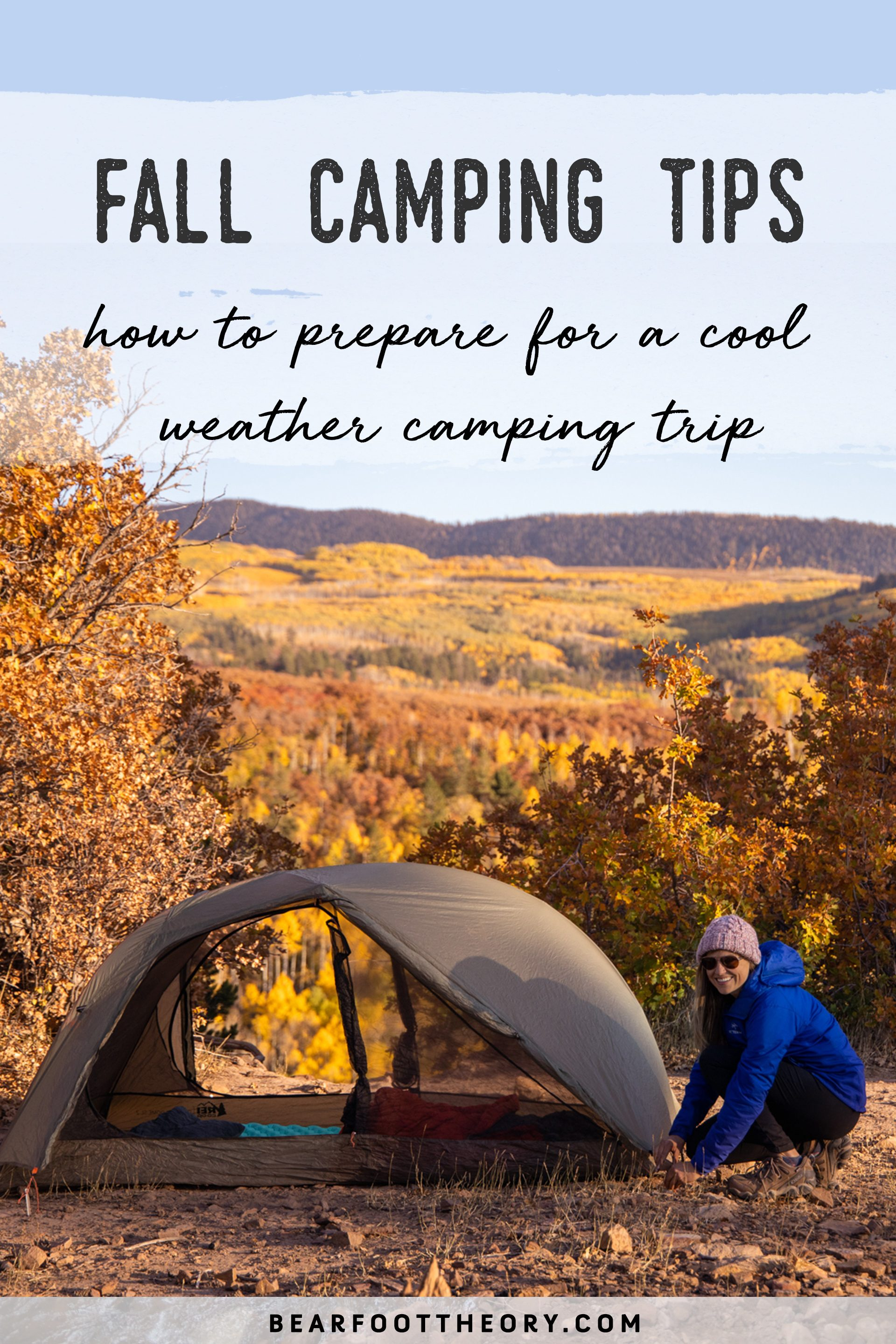 The summer crowds have dispersed, but it's still prime camping season. Get prepared and learn how to stay warm with these fall camping tips.