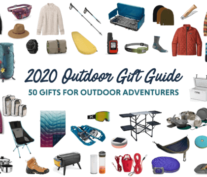 The ultimate guide to gifts for outdoor lovers with ideas for hikers, backpackers, campers, van lifers, travelers, skiers & more.