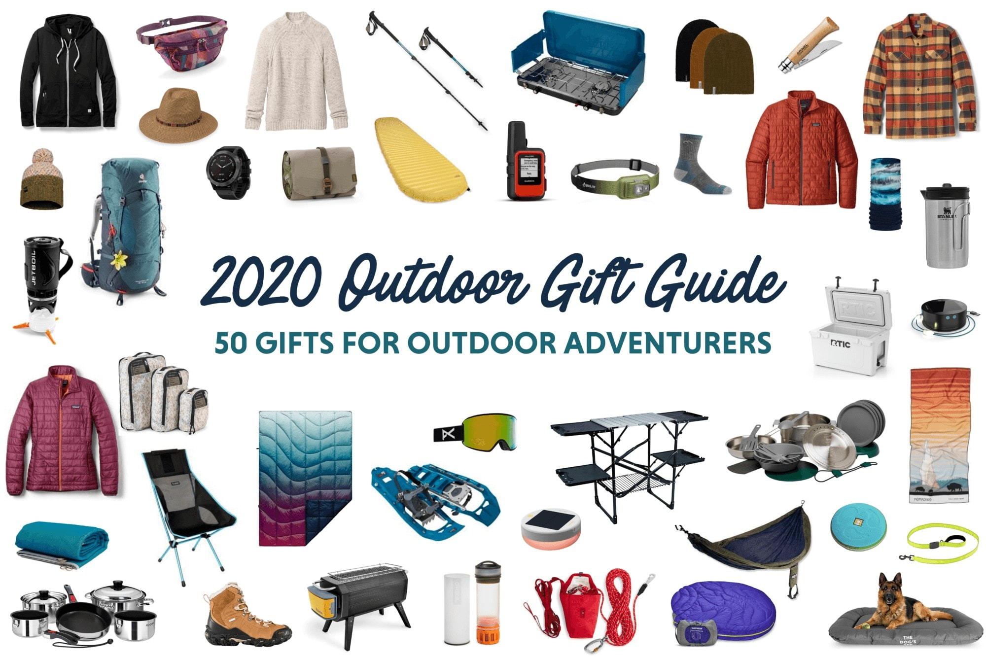 50 Best Gifts for Outdoor Lovers 2020: Ideas for Hikers, Campers, Van Lifers & More