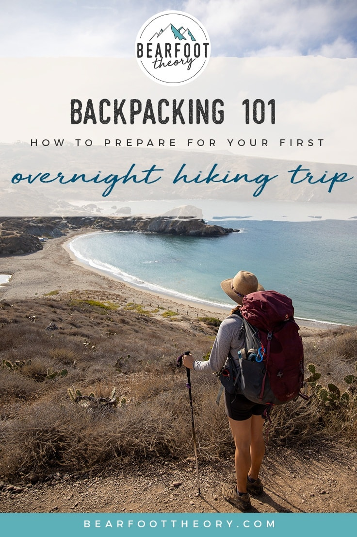Get the complete backpacking 101 beginner's guide to planning your first overnight hiking trip including gear, what to wear, how to meal plan, and more.