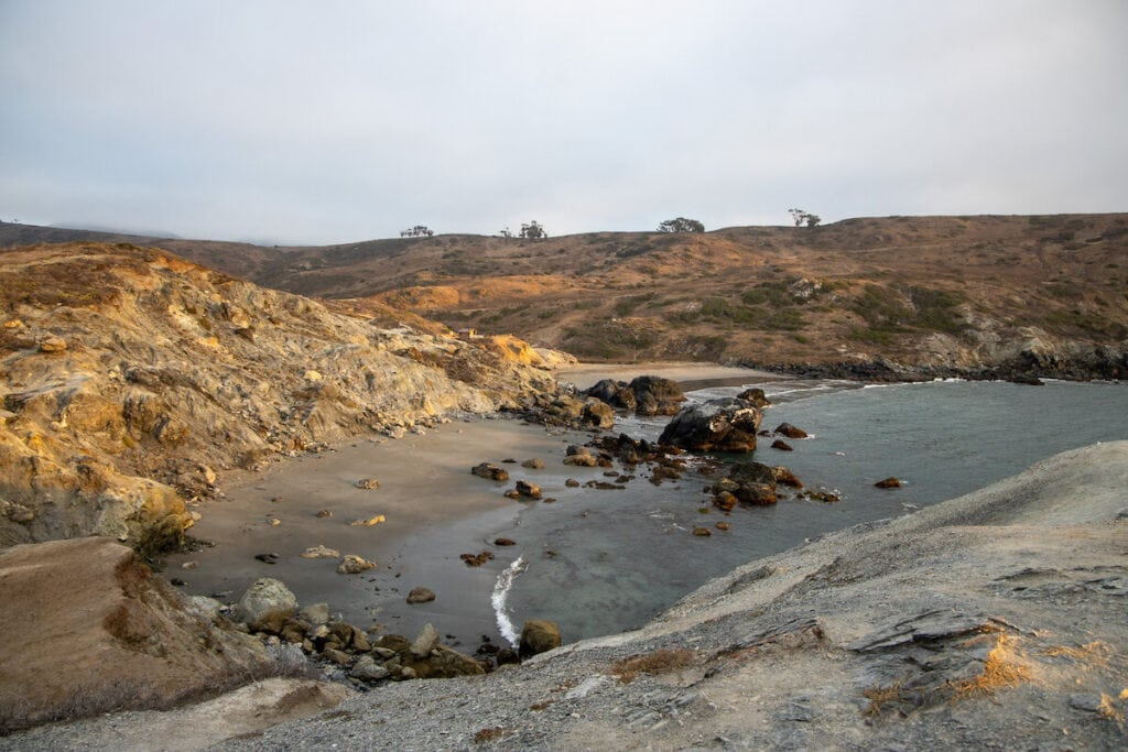 Little Harbor Campground / Plan a backpacking trip on the Trans-Catalina Trail on Catalina Island with this trail guide with tips on the best campsites, water availability, gear & more