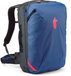The Cotopaxi Allpa travel pack is an eco friendly gift for travelers that gives back by supporting the Cotopaxi foundation.