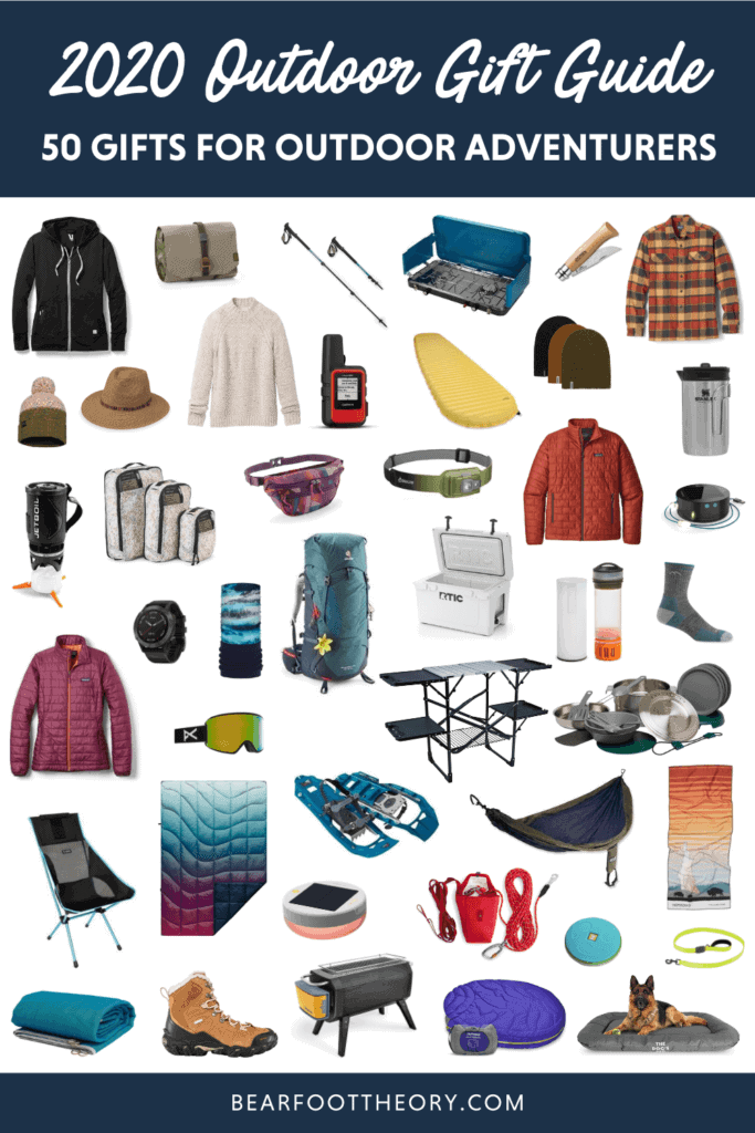 Find the perfect gift for the outdoor lover in your life with our ultimate gift guide featuring gifts for hikers, van lifers, campers, pets, and more.