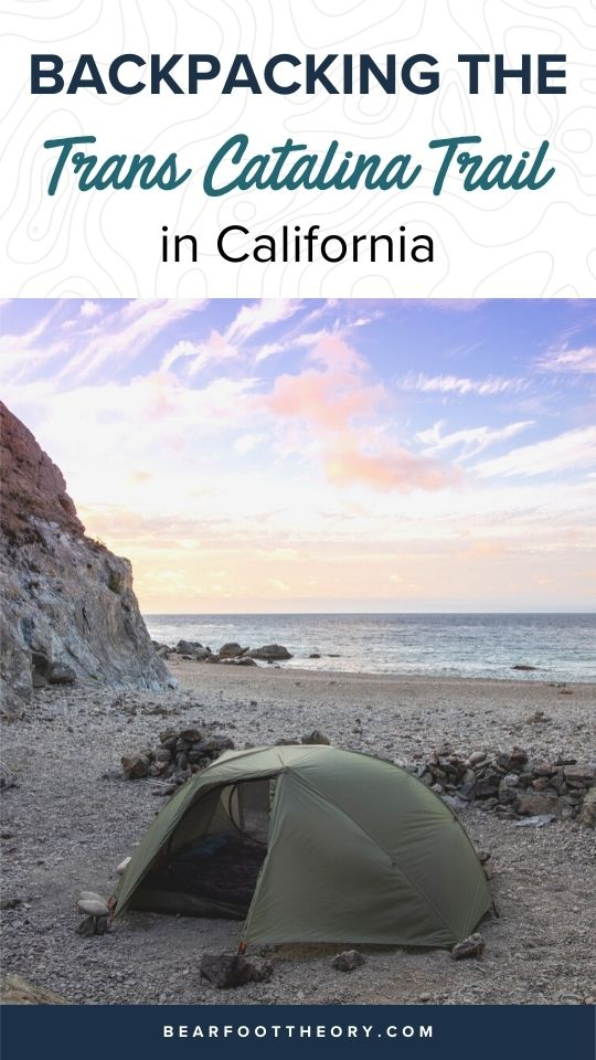Plan a backpacking trip on California's Trans-Catalina Trail with this hiking guide including tips on the best campsites, gear & water