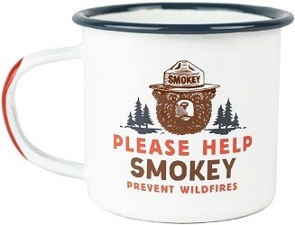 Landmark Project's smokey bear series is an eco friendly gift that supports wildfire prevention and education.