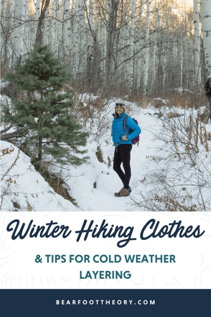 Interested in cold-weather hiking? Learn about base layers, shells, and other winter hiking clothes with our winter outdoor apparel guide.