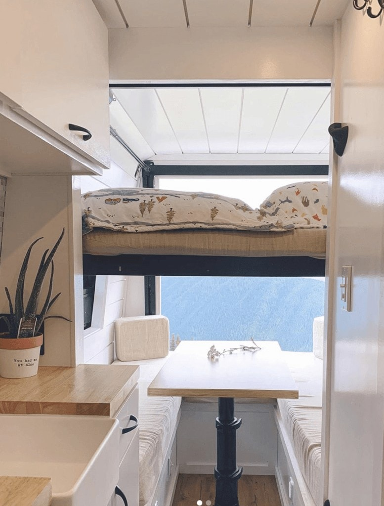 Interested in doing van life with your family? Learn the 5 most important things to consider and check out the best family camper van layouts!