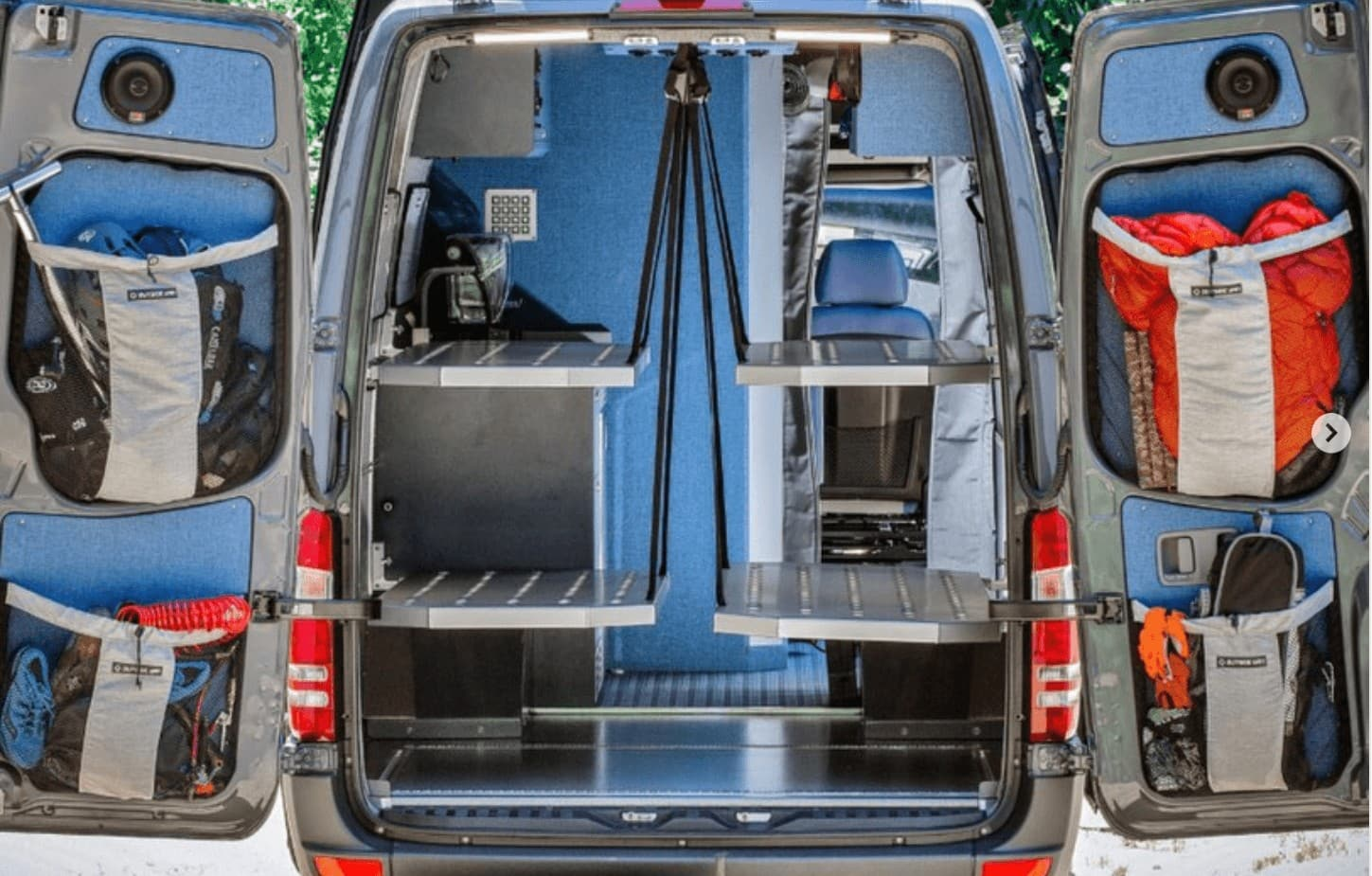 Best Camper Van Layouts For Families Bearfoot Theory
