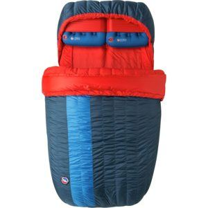 Big Agnes King Solomon Double Sleeping Bag // Here are the best double sleeping bags of 2020. Get cozy with these warm, comfortable 2-person sleeping bags ideal for camping, backpacking, and the budget-adventurer.
