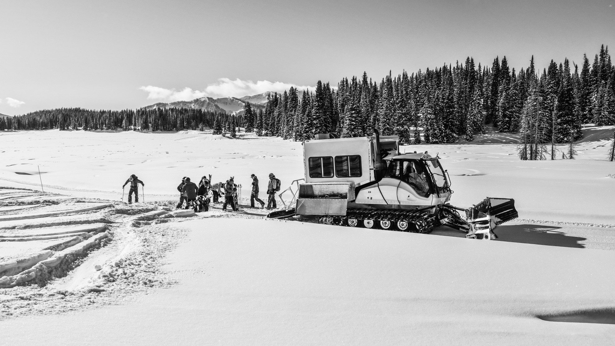 Snowcat Skiing with irwin guides in Crested Butte was a once in a lifetime experience