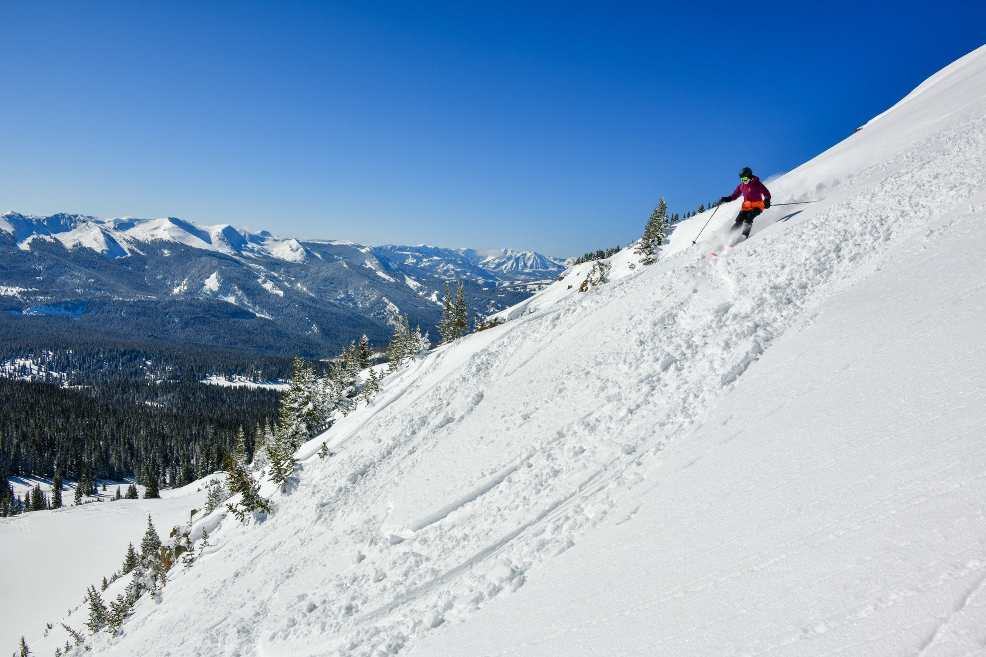 Snowcat Skiing with Irwin Guides in Crested Butte Colorado is a once in a lifetime experience
